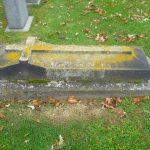 Old tomb stone.