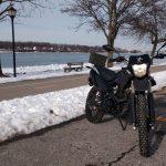 CSC TT-250 dual sport motorcycle